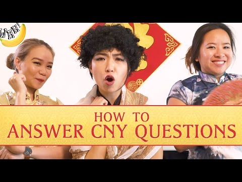 "How to answer CNY questions by Terence ""Gong Xi Fa Cai"" Then 