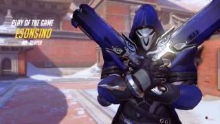 Overwatch Reaper Efsane Kill !! (Team Kill)
