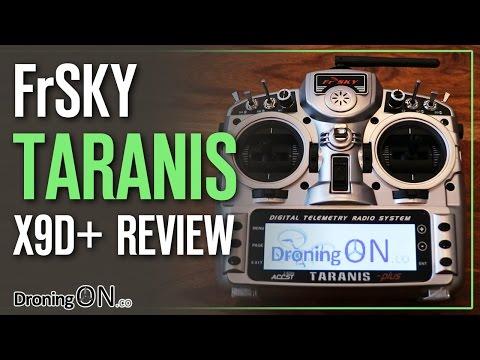 DroningON | FrSky Taranis X9D+ RC Transmitter Unboxing, Review, RX Binding & Model Setup