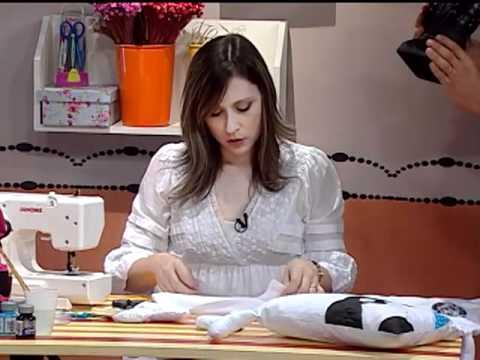 Como hacer almohadones infantiles- perrito