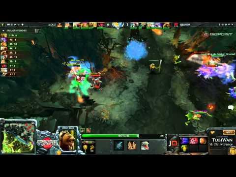 QPanDas vs Mousesports Game 1  Bigpoint Battle - TobiWan