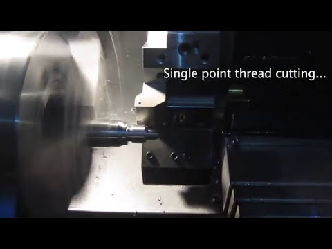 How it's done: Doosan Lynx 235 CNC Lathe in Operation