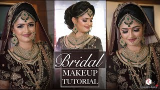 Best Makeup Tutorial For Indian Bride | 2018 Latest Bridal Makeup Tutorials | Krushhh By Konica