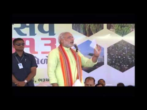 Shri Narendra Modi at the Krishi Mahotsav Function in Bharuch