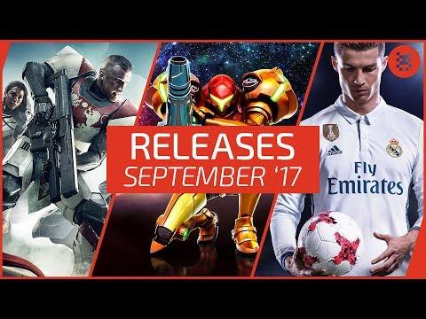 Neue SPIELE im September 2017- RELEASES für PC, PS4, Xbox One, Nintendo Switch │Frisch aufgetischt