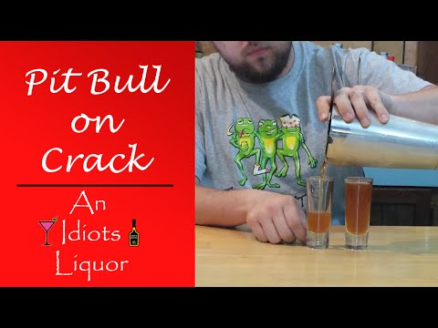 Pit Bull on Crack Shooter Recipe with Rumple Minze