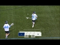 Joel Tinney scores on a hidden ball trick against Navy