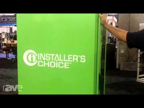 CEDIA 2013: Installer's Choice Explains Custom Cabinet and Rack Options