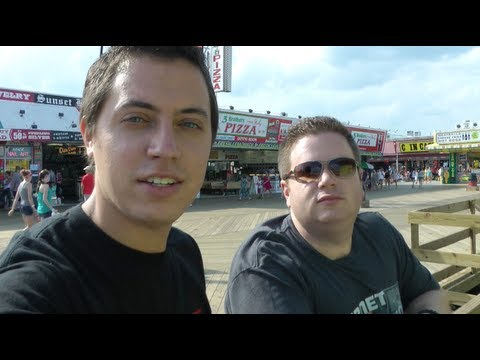 Three Geeks in Seaside Heights