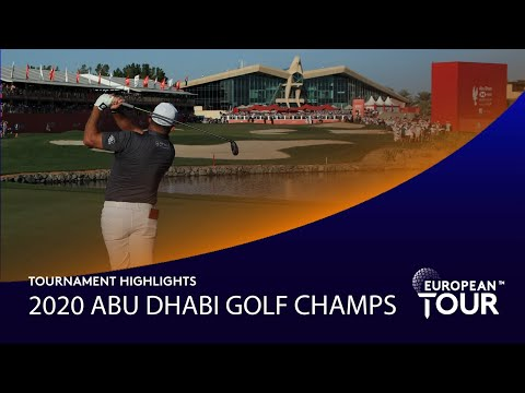 Extended Tournament Highlights | Abu Dhabi HSBC Golf Championship