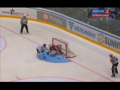 29.04.2010. Финляндия - Россия 5:4 Б. Серия буллитов.
