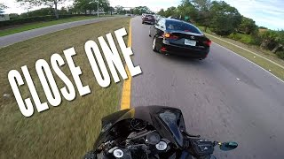 GET OFF TINDER & DRIVE! People trying to KILL motorcycle, WEED story + Bad Drivers