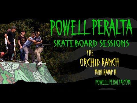 Powell Peralta Skateboard Sessions - Orchid Mini Ramp II