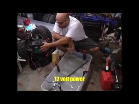 how to make an electrolysis machine