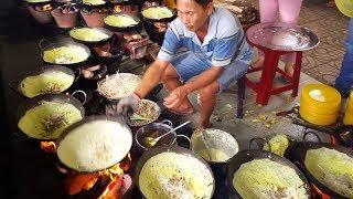 Chùa bánh xèo - Độc đáo cách đổ bánh - Du lịch An Giang | PAGODA PANCAKES