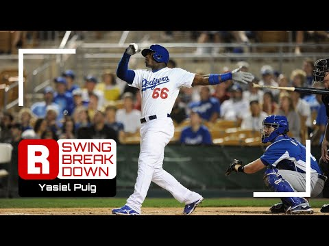 Yasiel Puig Hitting Mechanics Breakdown