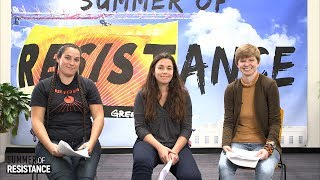 Summer of Resistance Non-violent Direct Action Training Webcast
