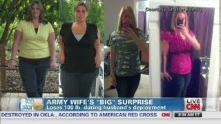 "Army wife ""loses it all"" for hubby"