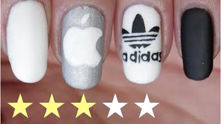 [T.N.A] Nail Art Facile : Marques♡