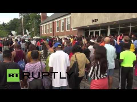 USA: NAACP holds mass meeting in wake of Michael Brown shooting