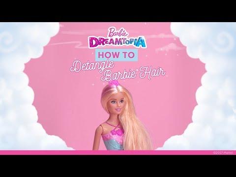 How to Detangle Barbie's Hair | Dreamtopia | Barbie