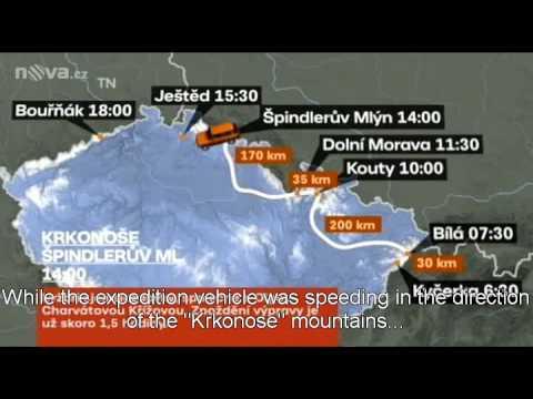 Czech Ski Record News Report on TV Nova