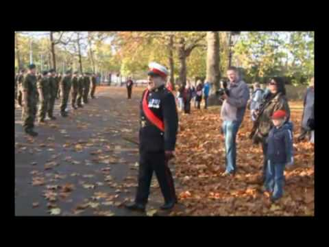 Commando Cops Speed March Through London - PART 1