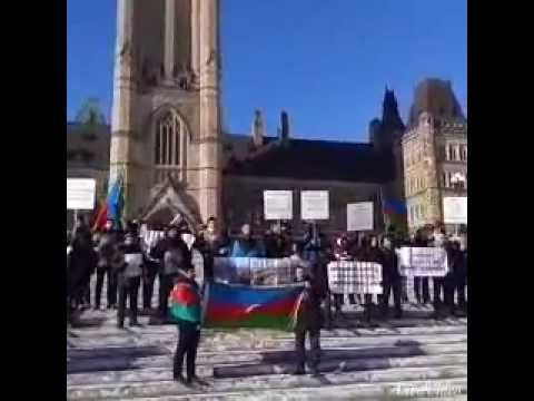Justice for Khojaly.Ottawa Parlament Hill Feb.20.2015
