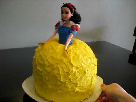 Snow White Birthday Cake Designs