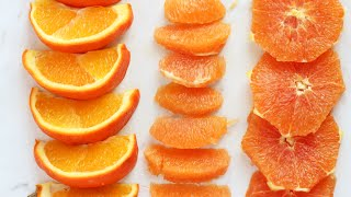 H&D Recipes | How to Cut an Orange