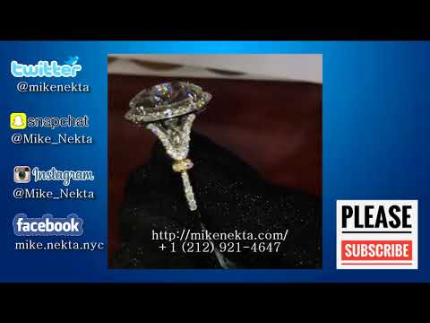 Exchange Round Big Diamond Ring is enough for 14 52 carats for bitcoin BTC
