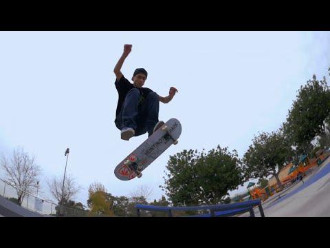 Rafael Perez at the South Central Skate Park