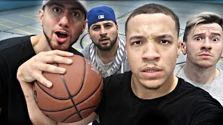 YOUTUBER BASKETBALL CHALLENGE!!