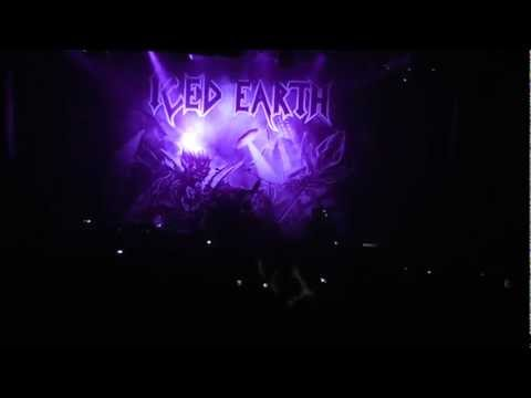 Iced Earth - When The Night Falls (Live at Refresh The Venue, Istanbul, 13.12.11)