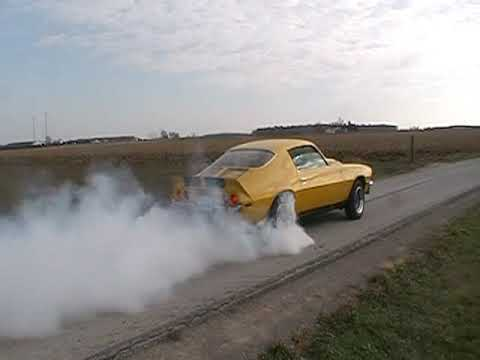 Nasty 1971 Z28/RS Burnout, 407 SBC somebodies gotta go fast