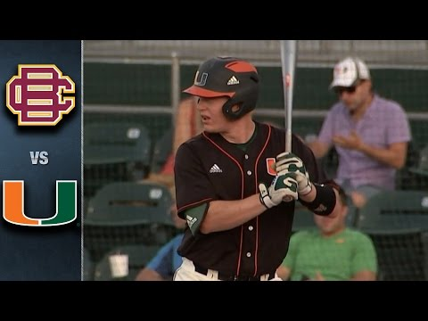 Miami vs. Bethune-Cookman Baseball Highlights (May 10, 2016)