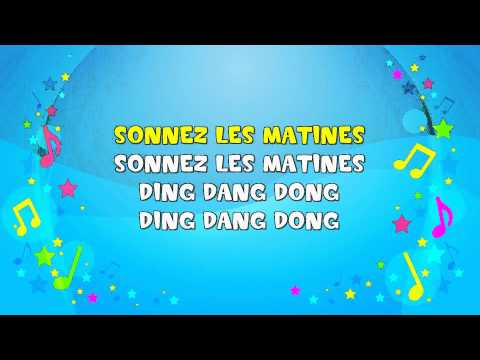 Frere Jacques | Sing A Long | Frère Jacques | Nursery Rhyme | KiddieOK