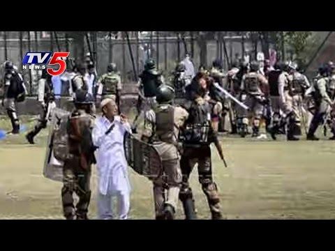 6 Hurt As Protesters Clash With Police | Srinagar | Kashmir | TV5 News
