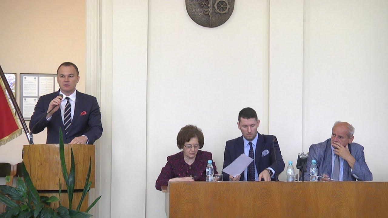 L sesja Rady Miejskiej, część I