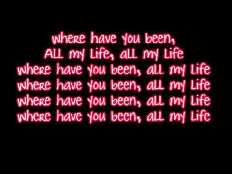 Rihanna - Where Have You Been - Lyrics Hd Hq video