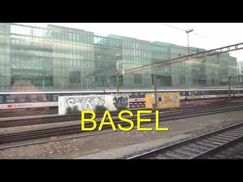 Basel Abfahrt mit der Bahn nach Hamburg 30-10-2018