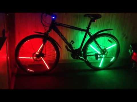 Светодиодные фонарь для велосипеда своими руками 89