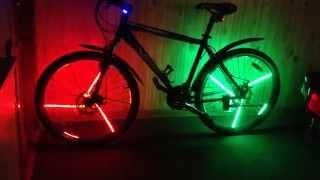 Как сделать светодиодную ленту для велосипеда 484