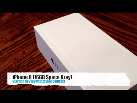 Unboxing - iPhone 6 + Setup