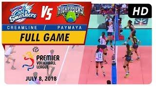 PVL RC Season 2 - WD: Cool Smashers vs. High Flyers | Full Game | 3rd Set | July 8, 2018