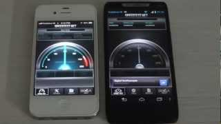 Motorola Razr I vs Iphone 4S (Part 2 :Face Off)