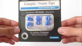 Unboxing : Comply Foam Tips T400