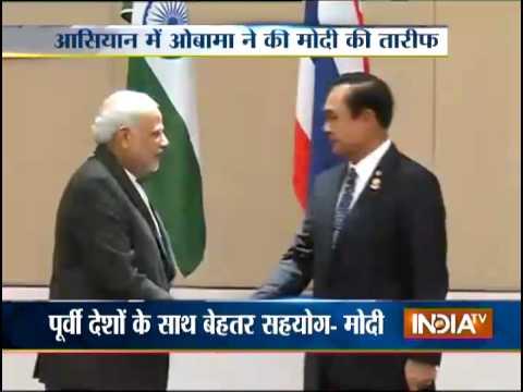 US President Barack Obama praises PM Narendra Modi