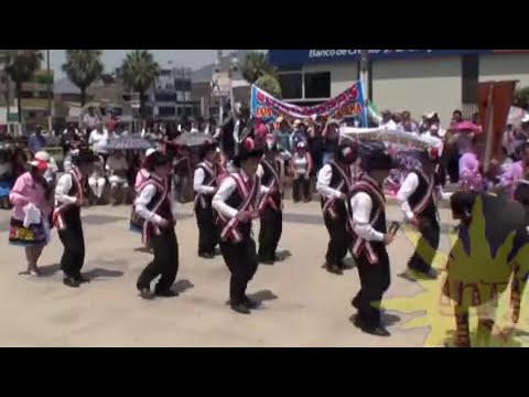 Pasacalle Folklore Concurso Piscobamba FEDILUZ Mariscal Luzuriaga IntiTV