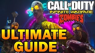 """Zombies In Spaceland"" Ultimate Guide! Full Map Walkthrough, Easy Tutorial! Infinite Warfare Zombies"